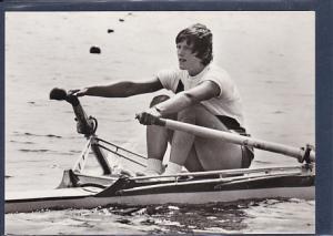 AK Christine Scheiblich Goldmedaille im Rudern Einer 1976