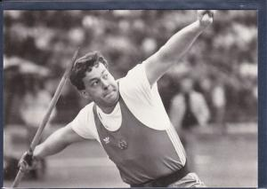 AK Uwe Hohn Sieger im Speerwerfen beim Olympischen Tag 1984 in Berlin