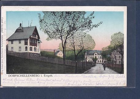 AK Dorfschellenberg i. Erzgeb. 1911 0