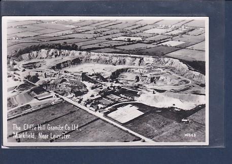 AK The Cliffe Hill Granite Co Ltd. Markfield Near Leicester 1950 0