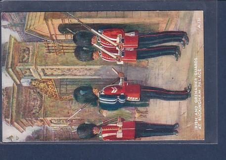 AK Irish and Grenadier Guards at Buckingham Palace 1920 0
