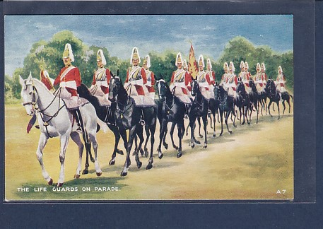 AK The Life Guards on Parade 1920 0