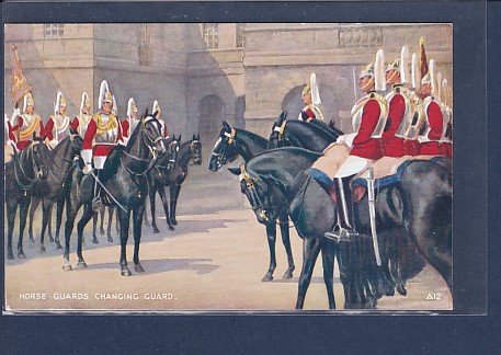 AK Horse Guards  Changing Guard 1920 0