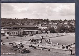 AK Mühlacker Badplatz 1963