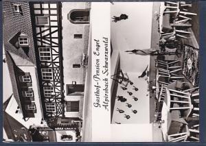 AK Gasthof - Pension Engel Alpirsbach Schwarzwald 2.Ansichten 1960
