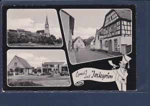 AK Gruß aus Jockgrim 3.Ansichten (Tankstelle) 1960