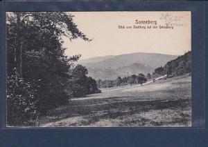 AK Sonneberg Blick vom Stadtberg auf den Schloßberg 1925