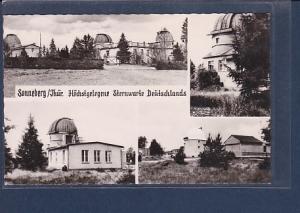 AK Sonneberg / Thür. Höchstgelegene Sternwarte Deutschlands 4.Ansichten 1961