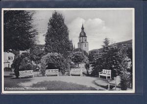 AK Friedrichroda Wilhelmsplatz 1937