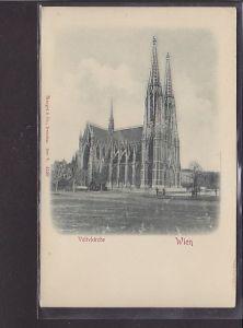 Reliefkarte Wien Votivkirche 1900