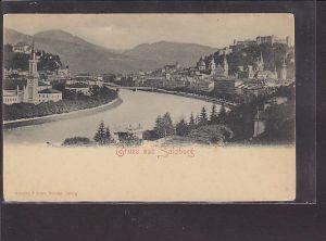 AK Gruss aus Salzburg 1920