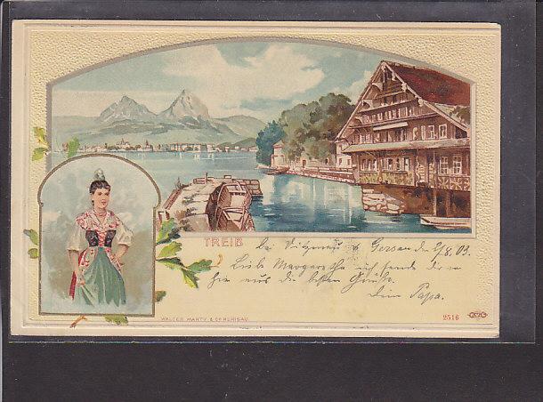 Präge AK Treib 1903