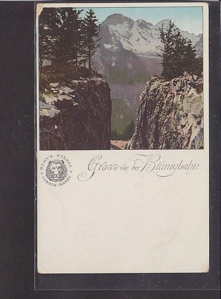 AK Gruss von der Brünigbahn 1920