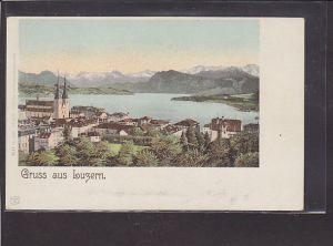 AK Gruss aus Luzern 1920