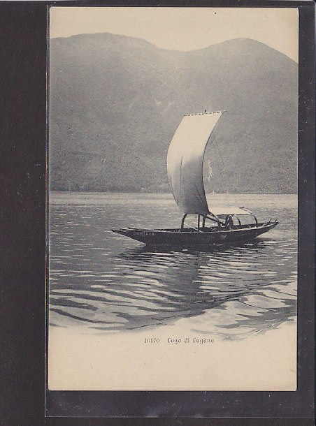 AK Lago di Lugano 1930
