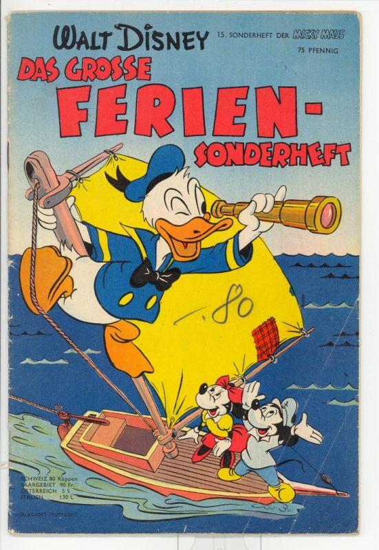 Micky Maus Sonderheft Nr.15 Z2