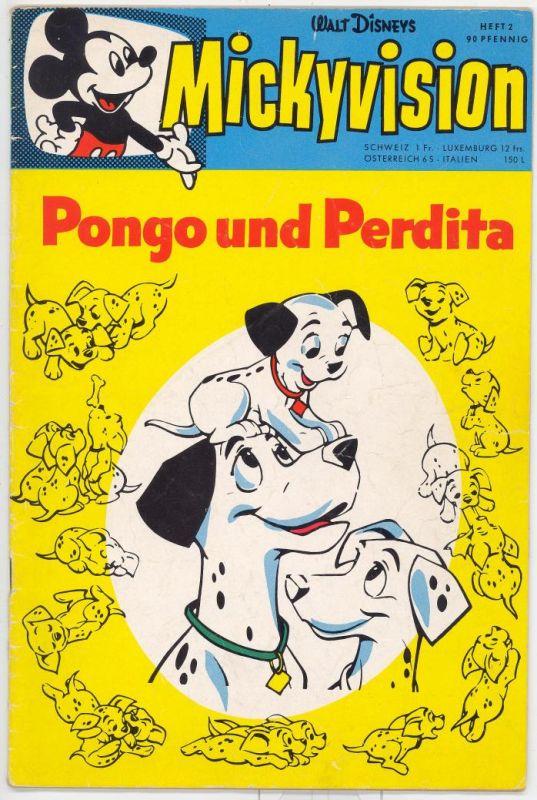 Mickyvision 1.Serie 1962/63 Nr.2 Z2-3