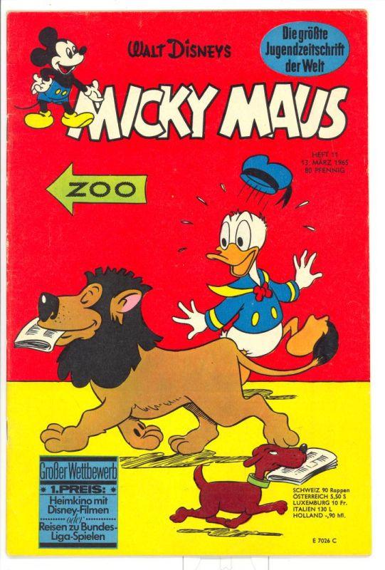 Micky Maus 1965 Nr.11 Z1-2