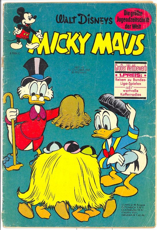 Micky Maus 1965 Nr.42 Z3