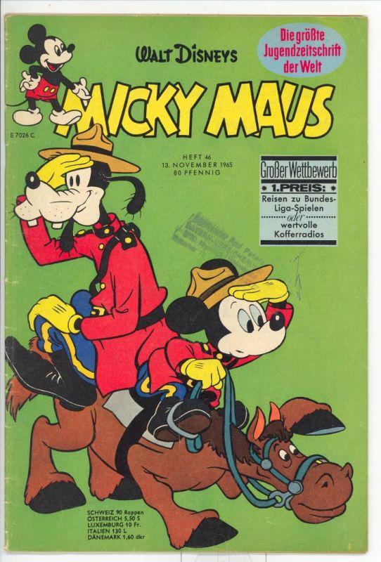Micky Maus 1965 Nr.46 Z3