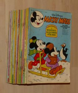 Micky Maus 1980 kompletter Jahrgang mit Beilagen