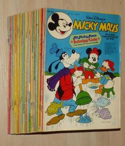 Micky Maus 1977 kompletter Jahrgang mit vielen Beilagen