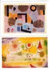 4 AK Paul Klee, 1 x Vorkrieg