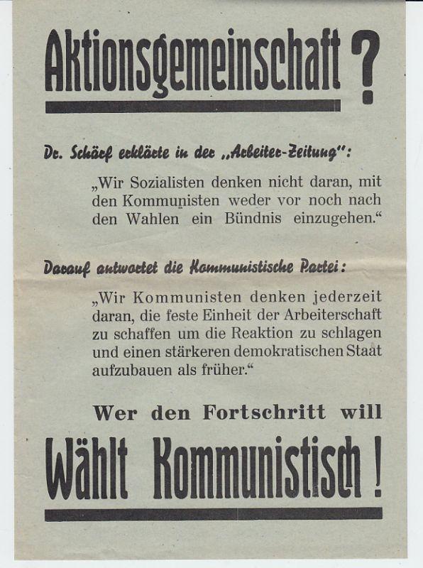 KPÖ-Flugblatt 1945