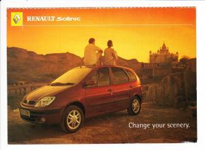 Renault Senic, Werbe AK, französisch in BG an deutsches Preisausschreiben! Kombination wohl einmalig!