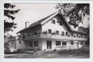 Oberammergau, Einzelhaus-O-Foto Hotel Rose, gel. 1968, ab dortselbst. Text!