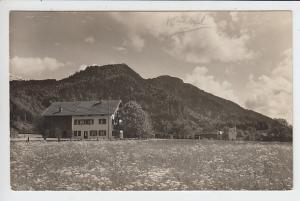 Kochel, Einzel-Haus, O-Foto gel. ab dortselbst 1930, örtlicher Verlag Blessing-Schmer