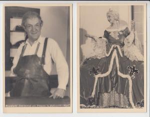 4 O-Fotos Hans Holdt, Seibold, Macheiner, Wagner, Martens, je 1940/42, beste Erhaltung