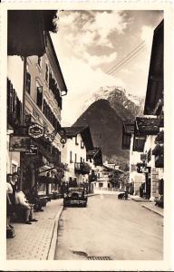 Lofer, Straßenpartie, gel. ab dortselbst 1936