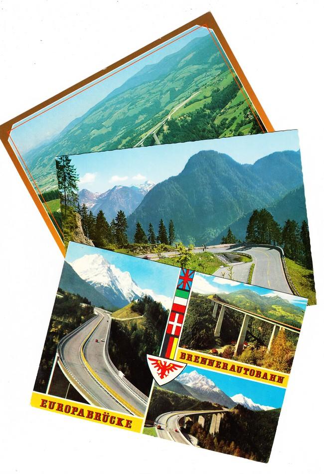 5 AK Straßen des 20. Jahrhunderts in Österreich