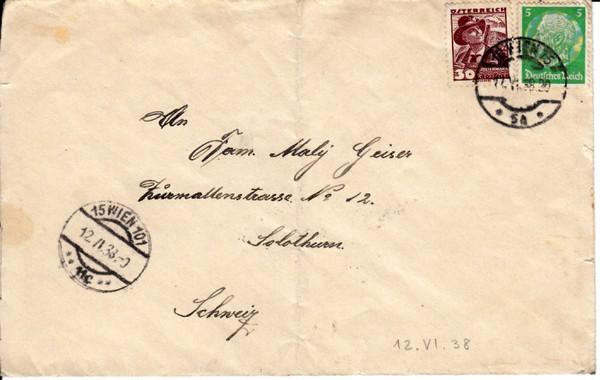 Guter Ostmark-Beleg. Auslandsbrief 25 Pf, 30 gr + 5 Pf. 1:1,5 Porto: Exakt! 1 x gefaltet, sonst i.O. 0