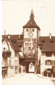Liestal, O-Foto-AK gel. 1924 ab dortselbst