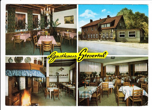 Nottuln/Emsland Gasthaus Stevertal, ab dort gelaufen 1972