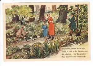 Reichsstelle für Naturschutz, noch völlig NS-ideologiefreie Karte gel. 1936, color