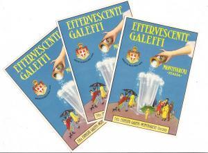 Graphisch tolle Werbekarte Italien. Zufallsfund bei Briefmarkenhändler auf der IMB. Alle übernommen. Keine 20 Stück, 3 x für unseren Händlerkollege, 3 gleiche AK