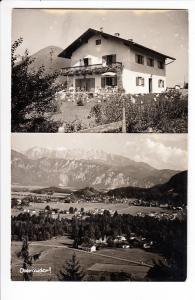 Oberaudorf, Foto-Karsten Einzelhaus-Foto, gelaufen 1960