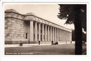 München, Haus der Deutschen Kunst, Photo-Hoffmann, recht seltener Haus-Ausstellungs-Stempel 1937