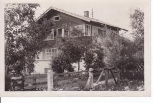 Einzelhaus, O-Foto Oberstdorf, gelaufen 1947 ab dortselbst