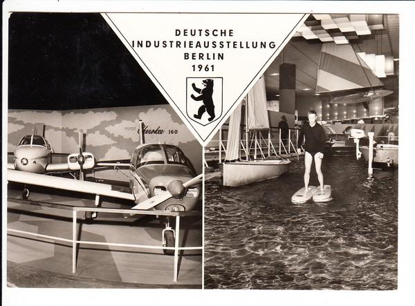 Dt. Industrie Ausstellung Berlin 1961, SST, kurz nach dem Mauerbau