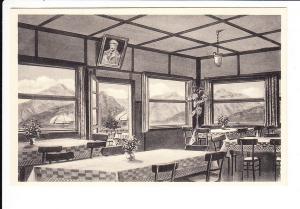 """Neubeuern, Kaltenbach-AK Feldpost 1941 Cafe """"Zur Haschlalm"""" natürlich mit Führerbild. Nie gesehen!"""