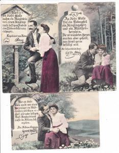 3 ultimative Karten für Verliebte! Texte! An einen Herren!