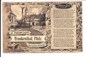 Frankenthal, als Bayern noch bei der pfalz war!