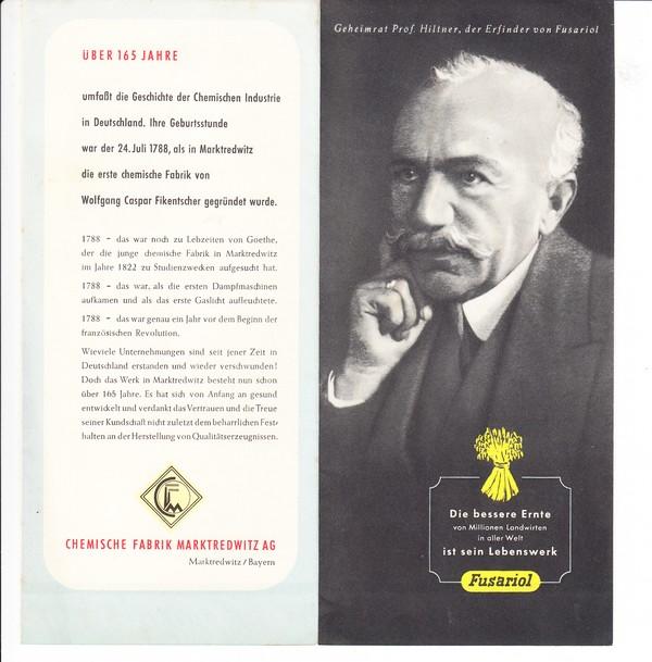 3 x Werbung für Dünger, 1 x Broschüre Wetterdienst, 1 x Bodenbeschaffenheitsprüfgerät, alles 60 Jahre und älter