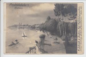 Friedrichshafen, originelle AK, Einriss 5 mm, aber nicht sehr störend