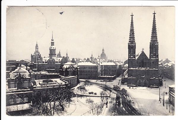 Dresden Im Schnee Webers Hotel Randbug Dafür Nach Usa Dort