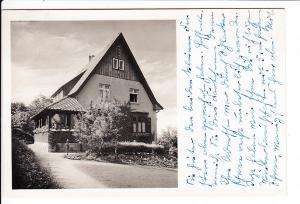Wenigerode/Ostharz, O-Foto-AK, Einzelhaus Kransestraße 2, unterster üblicher Preis solcher Einzelhaus AK, gel. 3.12.43 ab dortselbst, Erh. i.O.